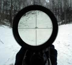 tactical scope view