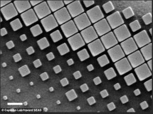 Metal Lens Titanium Dioxide Design
